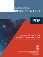 AICTE appointments committe report
