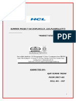 Research Study on HCL Product_158944627.docx