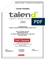 Talend Training | Talend Online Training