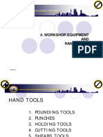 CHAPTER 4 Workshop Equipment and Hand Tools [Compatibility Mode]