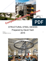 steel design project