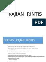 KAJIAN RINTIS