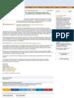 Global Losartan Potassium Market 2016 - Hanmi Fine Chemical, Merck, Teva Pharmaceutical, Taj Pharmaceuticals, Zhejiang Tianyu, Shanghai Pharma Xinya, Shandong Xinyi - openPR.pdf