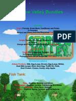 Stardew Valley Bundles