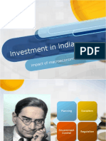 Investment in India