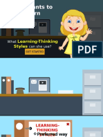 Learning and Thinking Styles