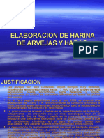 Harina de Arvejas y Habas