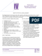 Domestic Violence and Psychological Abuse NCADV