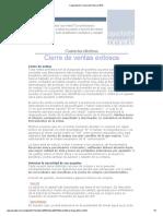 Capacitación Comercial Febrero 2012 - Cierre de Ventas Exitosos