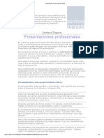 Capacitación Comercial Julio 2012 Presentaciones Profesionales