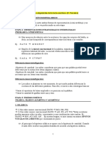 Adquisición de la Lecto Escritura (Etapas - Emilia Ferreiro)