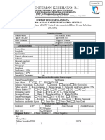 Format Surveylance Clabsi