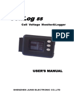 Cell Log 8s Manual