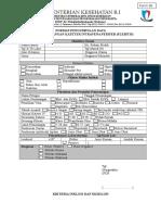 Format Surveylance Phlebitis