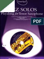 Simon Lesley - Jazz Solos (Playalong for Tenor Saxophone).pdf