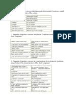 Preguntas Dirigidas a Conocer Datos Generales Del Paciente