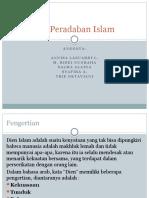 Konsepsi Peradaban Islam