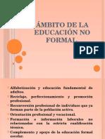 Ámbito de La Educación No Formal (1)