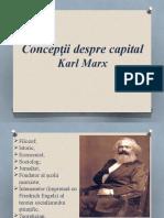 Conceptii Despre Capital
