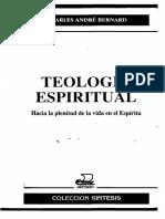 Teología Espiritual. Bernard, Charles André