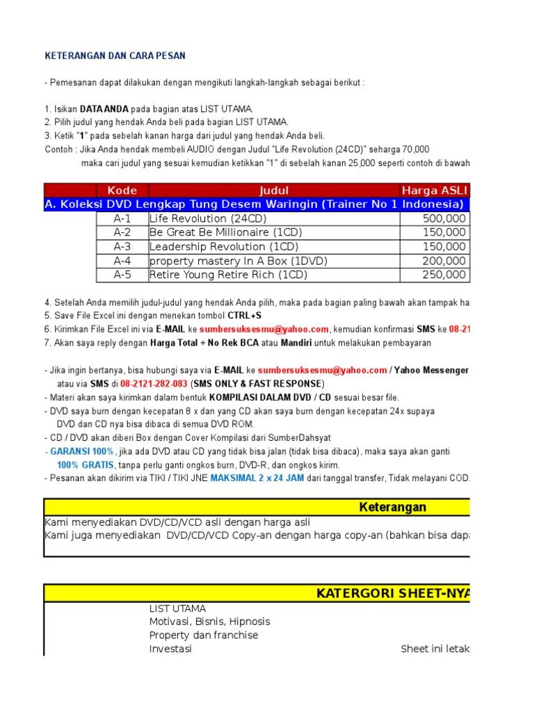 Pilihan Materi Pembelajaran Sumberdahsyatxlsx Psn Card Indonesia Idr 225000
