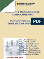 GESTION Y MERCADO DEL CONOCIMIENTO