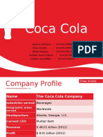 Coca Cola Vision and Mission