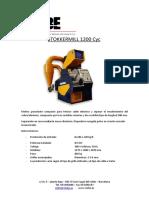 Cmbe Triturador de Cables Electricos Triturador de Cables Electricos Sm 1200 Cyc 1130296