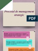 Procesul de Management Startegic