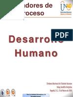 Indicadores de Proceso de Desarrollo Humano