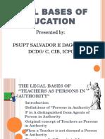 Legal Bases