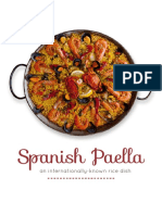 Spanish Paella History&Recipe