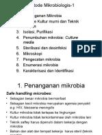 Metode Mikrobiologis