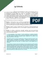Appendix e Soil Testing Criteria