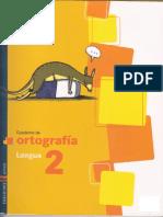 Cuaderno de Ortografia 2