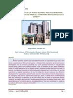 HRD in Prathma Bank