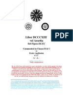 Liber ARARITA Commented