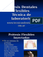 Protesis Flexible Inyectada