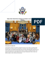 Draft 2017 SUSI for Student Leaders FAQs Study of the United States Institute for Student Leaders on Policymaking Editable Final