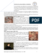 Psicologia en La Edad Media y Moderna