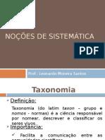 Biologia Geral - Taxonomia 05