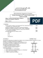 Examen de Passage Tsbecm 2015 Theorique Variante 1