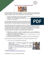 3º La Investigación en Psicopatología Para Subir