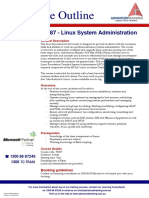 55187 Microsoft Linux System Administration