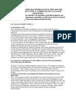 Normas de Derecho Internacional Privado Del Nuevo Codigo Civil y Comercial de La Nacion Argentina Pag. 2