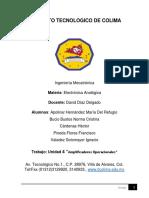 Manual de Practicas para Electronica Analogica