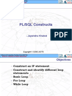 03_PL SQL Constructs