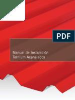 Manual de Instalación Acanalados Ternium