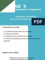Unidad 5 Ingeniera Economica