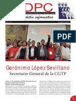BOLETIN INFORMATIVO DPC 1 CGTP